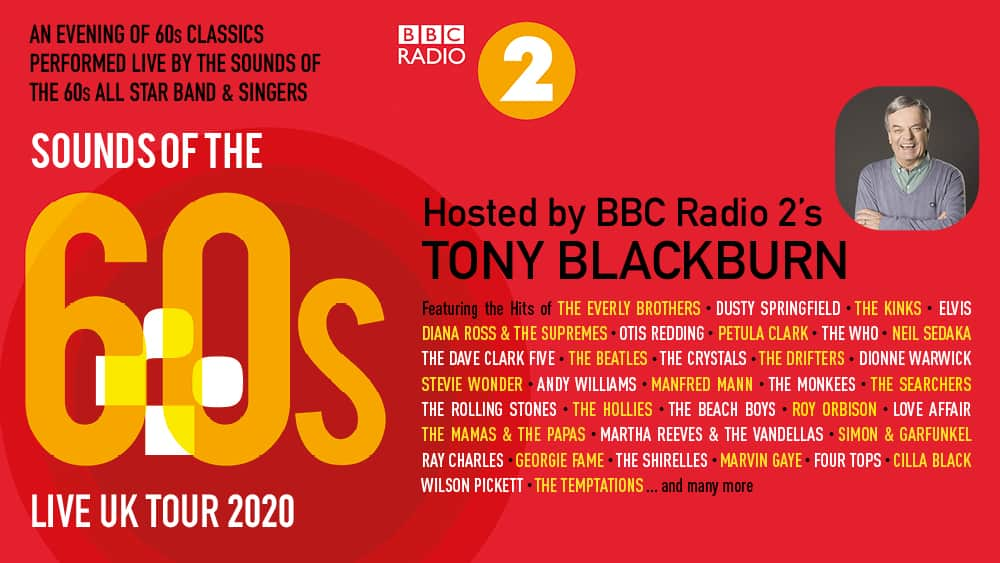 Sounds of the '60s LIVE with Tony Blackburn